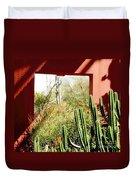 Desert Window Duvet Cover