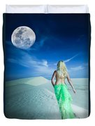 Desert Woman Duvet Cover