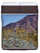 Desert Yellow Duvet Cover