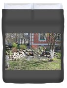 Design Of Yard Duvet Cover