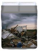 Destruction Left In The Wake Duvet Cover