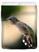 Determined Hummingbird Duvet Cover