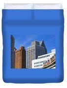 Detroit People Mover Duvet Cover