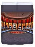 Detroit Pistons Locker Room Auburn Hills Mi Duvet Cover