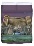 Detroit's Michigan Central Station - Michigan Central Depot Duvet Cover
