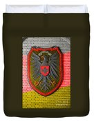 Deutsch Weimarer Shield Duvet Cover