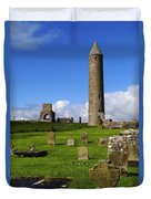 Devenish Monastic Site, Co. Fermanagh Duvet Cover