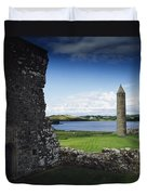 Devenish Monastic Site, Lough Erne, Co Duvet Cover