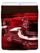 Devilish Hot Rod Duvet Cover