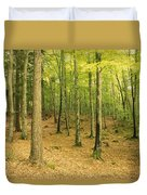Devils Glen Woods, County Wicklow Duvet Cover