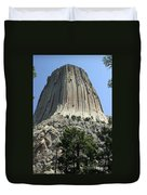 Devil's Tower Duvet Cover