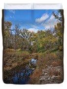 Diamond Creek Duvet Cover
