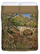 Diamond Creek Double Arch Bridge Duvet Cover