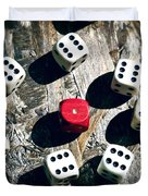 Dice Duvet Cover by Joana Kruse