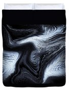 Digital Blue Art Duvet Cover
