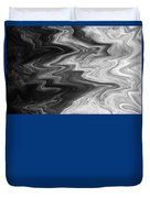 Digital Cloud Abstract Duvet Cover