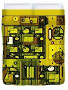 Digital Design 381 Duvet Cover