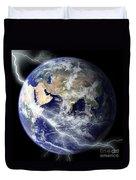Digitally Enhanced Image Of The Full Duvet Cover