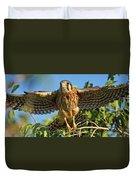 Digitally Enhanced Image, Painterly Duvet Cover