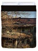 Dilapidated Farmhoue Duvet Cover