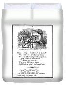 Ding Dong Bell, 1833 Duvet Cover