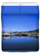 Dingle Harbour, Dingle, Co Kerry Duvet Cover