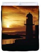 Dingle Lighthouse, Dingle Peninsula Duvet Cover