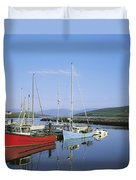 Dingle Peninsula, Dingle Harbour Duvet Cover