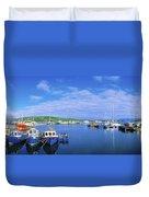 Dingle Town & Harbour, Co Kerry, Ireland Duvet Cover