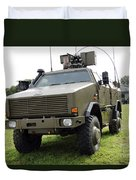 Dingo II Vehicle Of The Belgian Army Duvet Cover