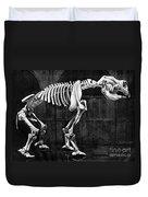 Diprotodon, Cenozoic Mammal Duvet Cover