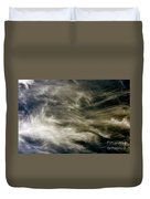 Dirty Clouds Duvet Cover
