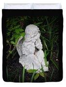 Dirty Little Angel Duvet Cover