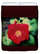 Dirty Rose Knows Duvet Cover by Bill Cannon