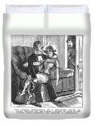 Discarded Lover, 1890s Duvet Cover