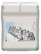 Discovery Monument Lisbon Portugal Duvet Cover