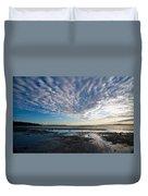 Discovery Park Beach Sunset Duvet Cover