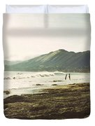 Distant Conversations Duvet Cover by Cindy Garber Iverson