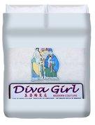 Diva Girl Duvet Cover