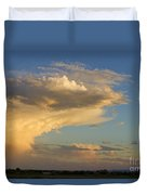 Dive Into The Night Duvet Cover