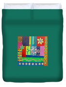 Diversity Has Proven God Is Love V2 Duvet Cover by Jeremy Aiyadurai