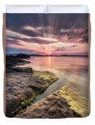 Divine Sunset Duvet Cover