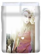 Mschronicchronicles Sunshine Lady Duvet Cover