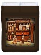 Doctor - The Medicine Cabinet Duvet Cover