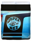 Dodge Charge Super Bee Logo  Duvet Cover