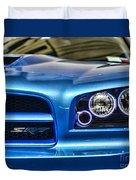 Dodge Charger Front Duvet Cover