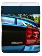 Dodge Charger Srt8 Rear Duvet Cover