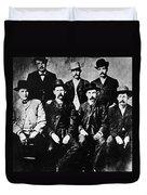 Dodge City Commission Duvet Cover