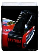 Dodge Daytona Fin 02 Duvet Cover
