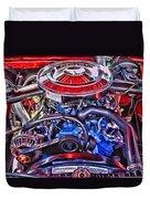 Dodge Motor Hdr Duvet Cover